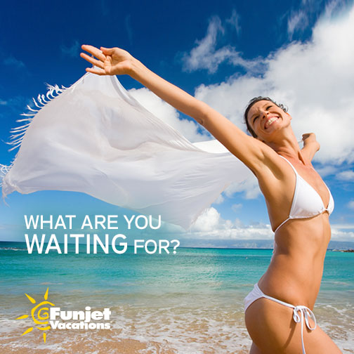 book your next FunJet vacation with Why Go Travel Agency, LLC.